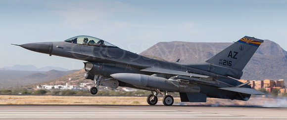 162nd FW, AZ ANG, F-16, Fighting Falcon, Viper, Jet, Fighter