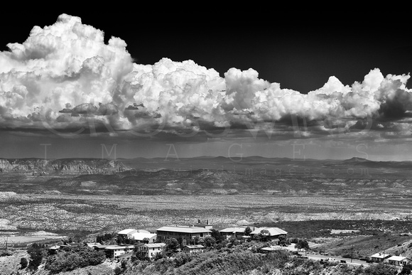 "2013, Adams, ""All Rights Reserved"", ""Ansel Adams"", Arizona, August, B&W, ""Black & White"", Capture, Clouds, ""Crosswind Images"", ""Digital Photography"", ""Dramatic Sky"", Image, ""Jay Beckman"", Jerome, Mono"
