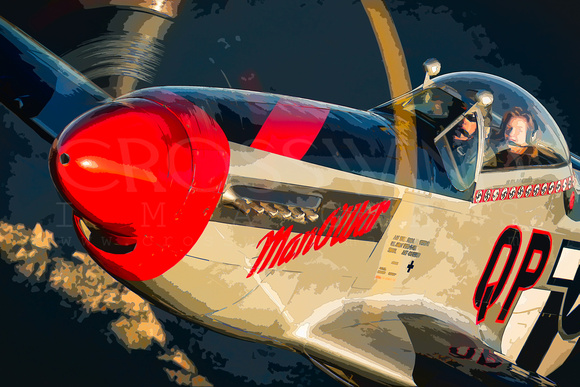 "Mustang, P-51, ""Art Of Flight"", Art, Abstract, Pony, ""North American"", NAA, ""Man O War"", ""Crosswind Images"", ""Jay Beckman"", ""Digital Art"", ""Digital Photography"", Canon, A2A, ""Air To Air"", Flight, Flyi"