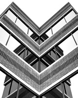 "2013, ""All Rights Reserved"", Arizona, B&W, ""Black & White"", Brick, Building, Capture, ""Crosswind Images"", ""Digital Photography"", Glass, Illusion, Image, ""Jay Beckman"", ""Looking Up"", Mill, ""Mill Ave"","