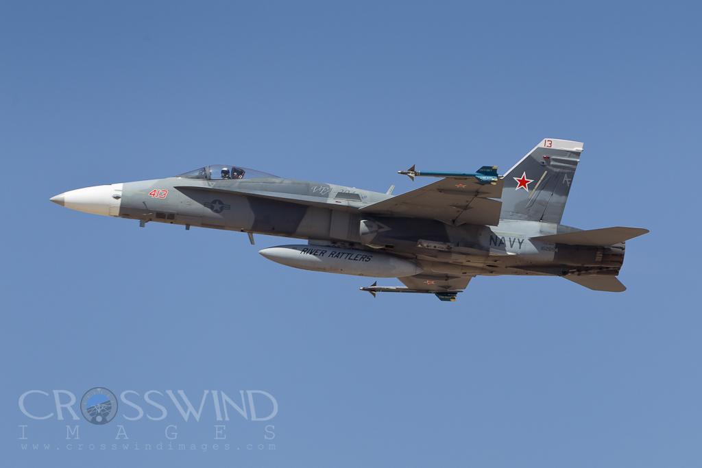 Accidente de caza F/A-18A Hornet de la US Navy P82860731